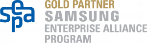 Logo Gold Partner Samsung Enterprise Alliance Program SEAP